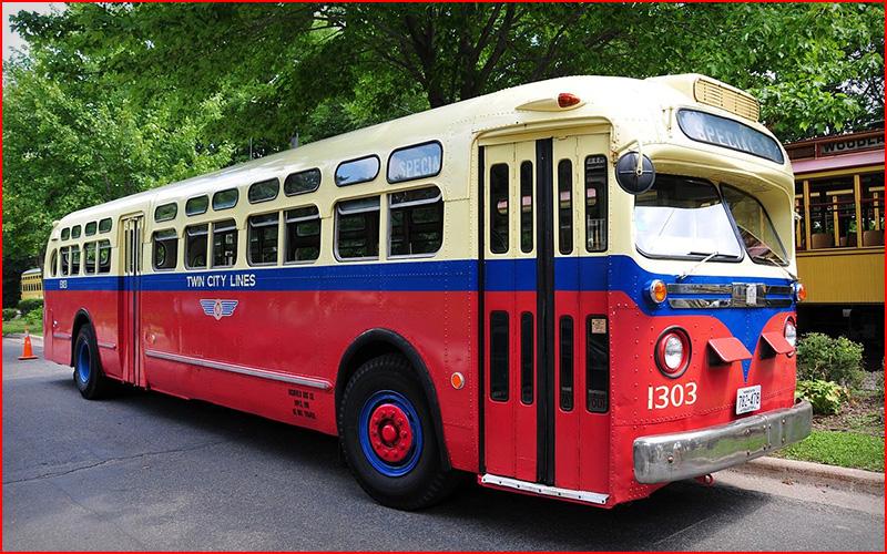 1950's Bus Rides