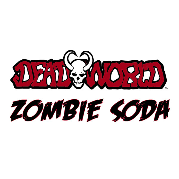 Deadworld Zombie Soda logo