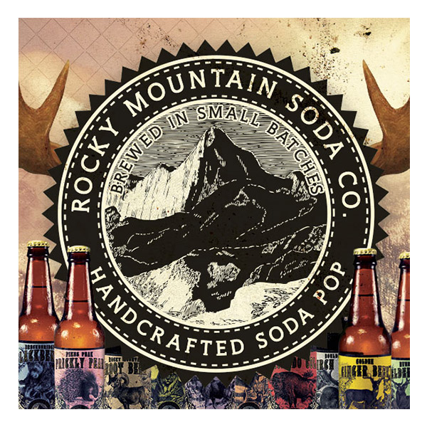Rocky Mountain Soda logo