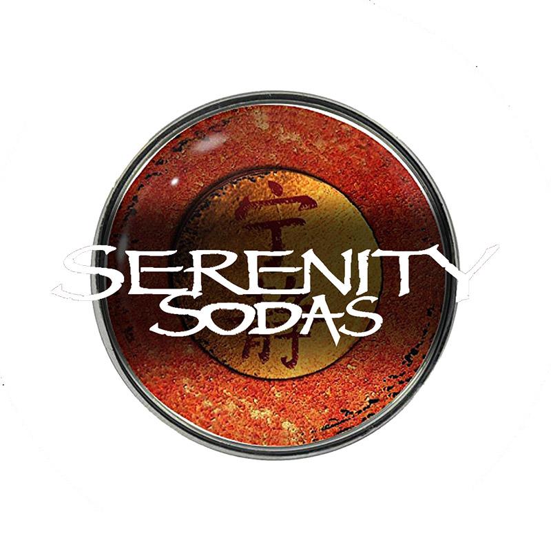 Serenity Sodas logo